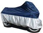 Deluxe Ventilated Motorcycle Rain Cover - choice of sizes